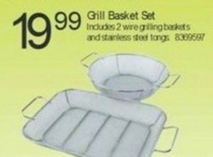 Grill Basket Set