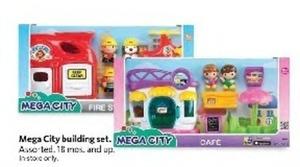 Mega City Building Sets