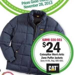 Caterpillar Men's Artic Zone Puffer Jacket