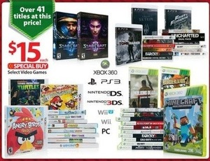 Select Video Games (Over 41 Titles)