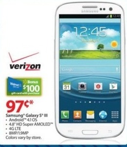 Samsung Galaxy s III (Friday Only)