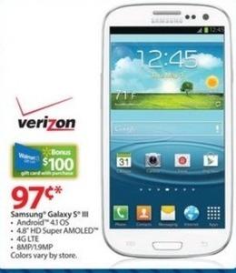 Samsung Galaxy s III (Friday Only)