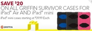 All Girffin Survivor Cases for iPad Air