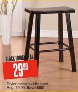 Taylor Metal Saddle Stool