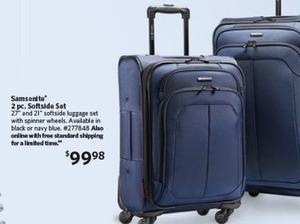 Samsonite 2-pc. Softside Spinner Luggage Set