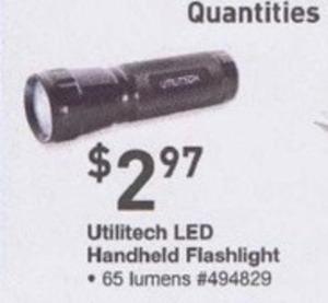 Utilitech LED Handheld Flashlight