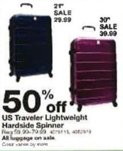 US Traveler Lightweight Hardside Spinner