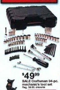Craftsman 94PC Mechanic's Tool Set