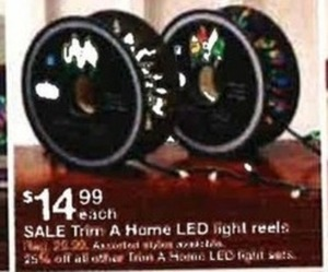 Trim A Home LED LIght Reels