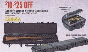Cabela's Arm Xtreme Gun Cases