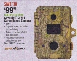 Spypoint 2-in-1 Surveillance Camera