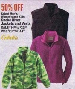 Snake River Men's, Women's & Kids' Jackets & Vests