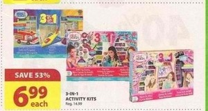 3-in-1 Activity Kits