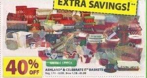 Ashland & Celebrate IT Baskets