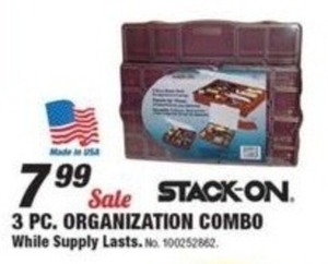 Stack-On 3PC Organization Combo