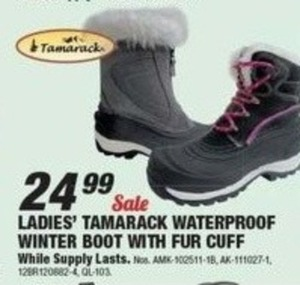 Women's Tamarack Waterproof Winter Boots