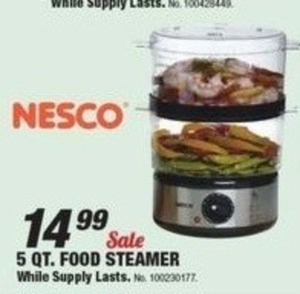 Nesco 5 QT Food Steamer
