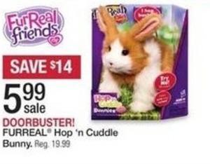 Furreal Hop 'n Cuddle Bunny