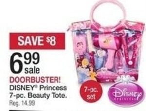 Disney Princess 7-pc Beauty Tote