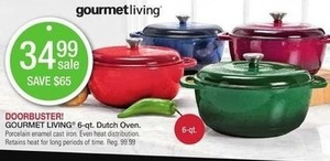 Gourmet Living 6-qt. Dutch Oven
