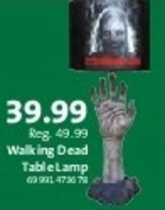 Walking Dead Table Lamp