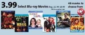 Select Blu-ray Movies