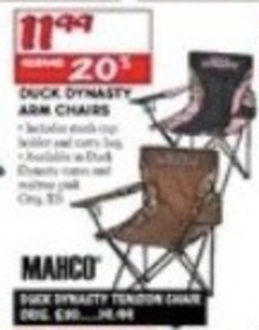 Mahco Duck Dynasy Arm Chairs