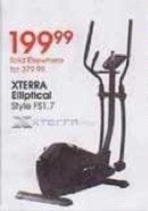 Xterra Elliptical