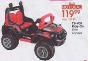 12-Volt Ride-On