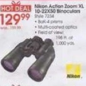 Nikon Action Zoom XL 10-22X50 Binoculars