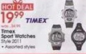 Assorted Timex Sport Watches