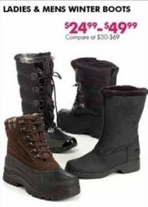 Ladies and Mens Winter Boots
