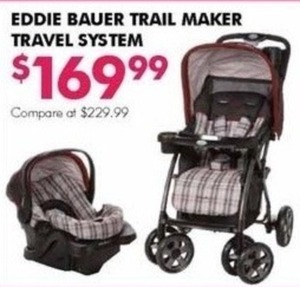 Eddie Bauer Trail Maker Travel System