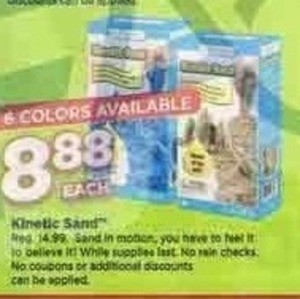 Kinetic Sand (Assorted Colors)
