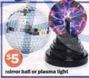 Mirror Ball or Plasma Light