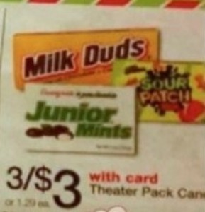 Theater Pack Candy