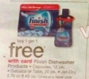 Finish Dishwasher Products