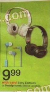 Select Varieties Sony Earbuds