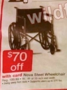 Nova Steel Wheelchair