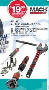 Craftsman Mach 17-Pc. T-Handle Set