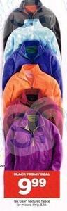 Tek Gear Women's Textured Fleece Tops