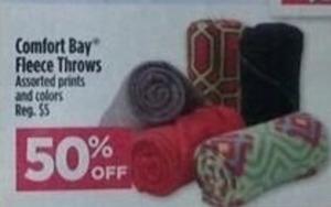 Comfort Bay Fleece Throws