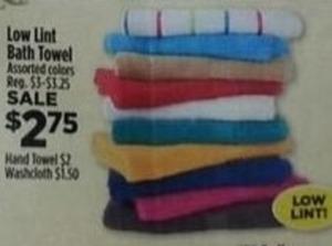 Low Lint Hand Towel