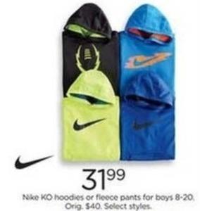 Boys' Nike KO Hoodies