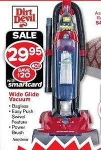 Wide Glide Vacuum w/ Smartcard