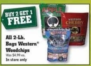 All 2lb. Bags of Western Woodchips