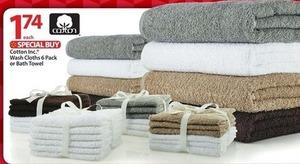 Cotton Inc. Bath Towels
