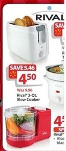 Rival 2QT Slow Cooker