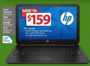 "HP 15.6"" Intel Celeron Laptop w/ 4GB RAM & 500GB HD"