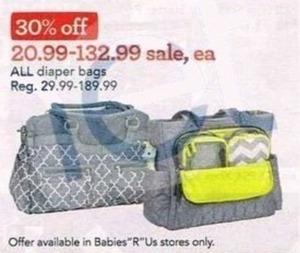 All Diaper Bags